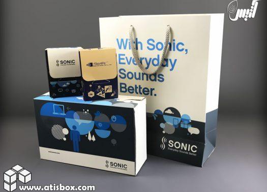 جعبه سمعک سونیک