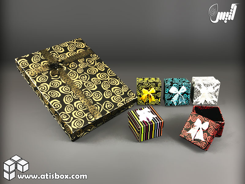 جعبه طلا و جواهرات