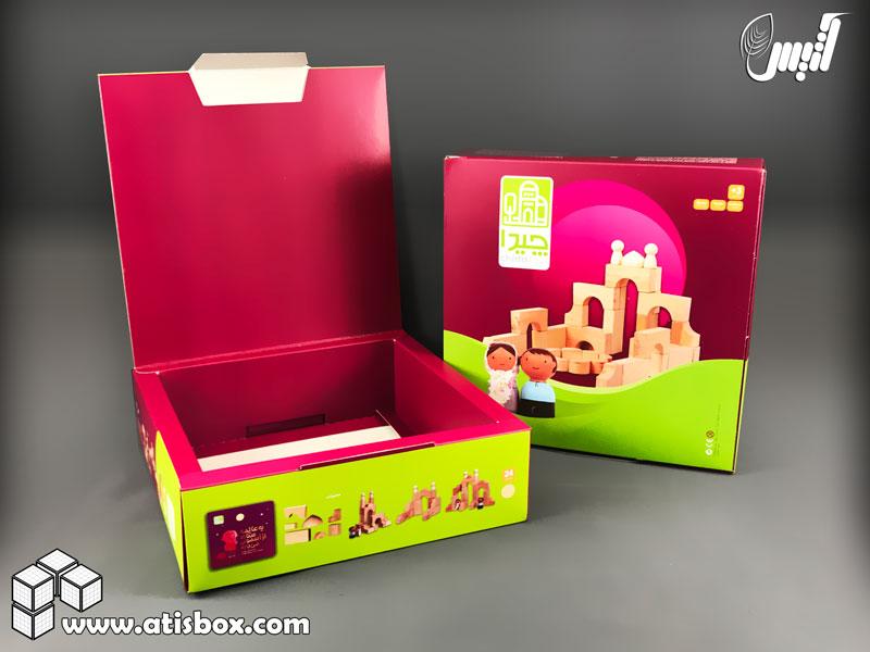 جعبه اسباب بازی چیدا