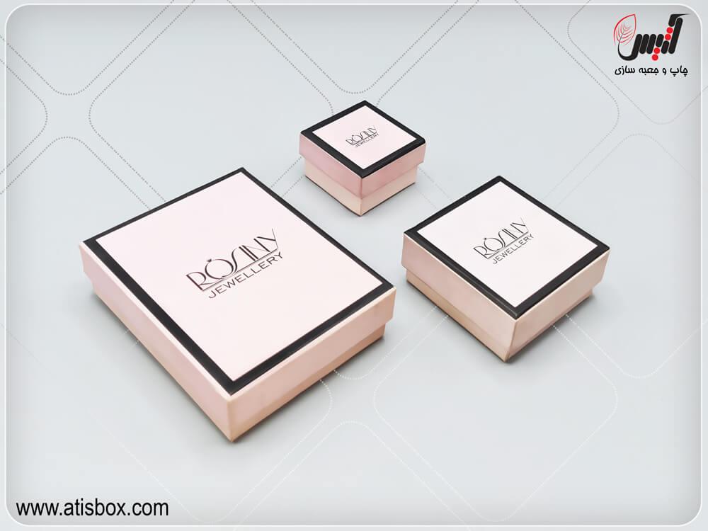جعبه طلا و جواهرات رسینی