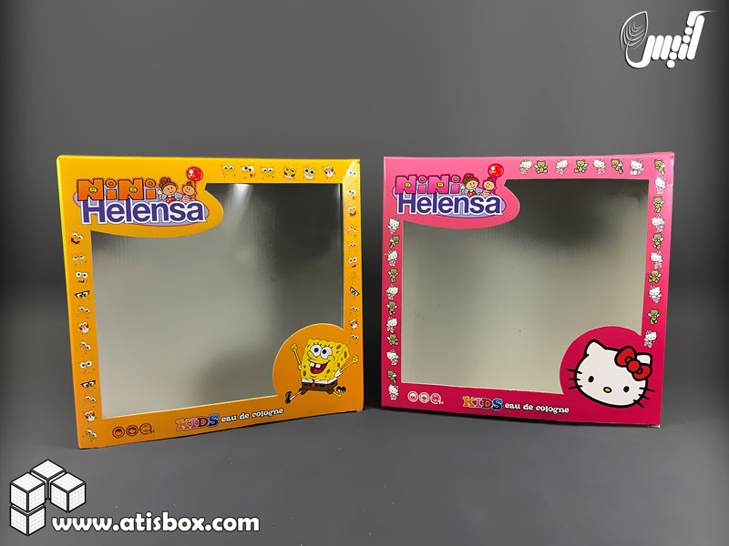 جعبه محصولات هلنسا