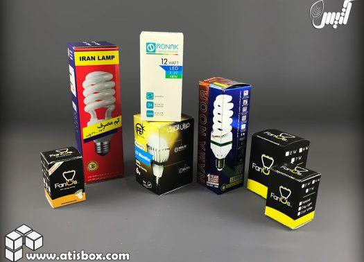 مجموعه جعبه لامپ