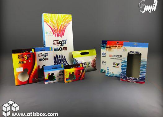 کلکسیون بسته بندی محصولات آتروپات