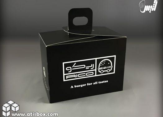 نمونه جعبه مقوایی