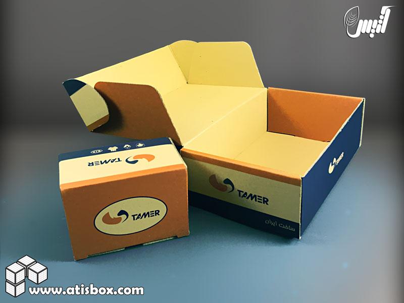 نمونه جعبه لمینیتی