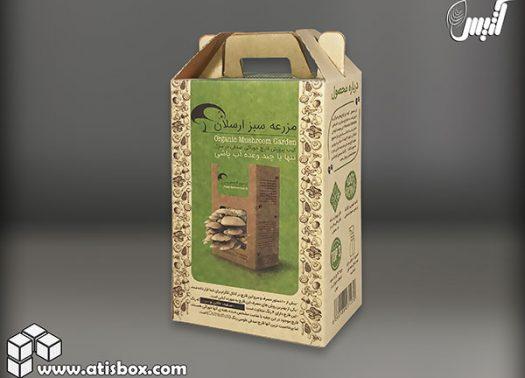 جعبه کیت پرورش قارچ