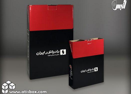 جعبه محصولات رادیاتور ایران