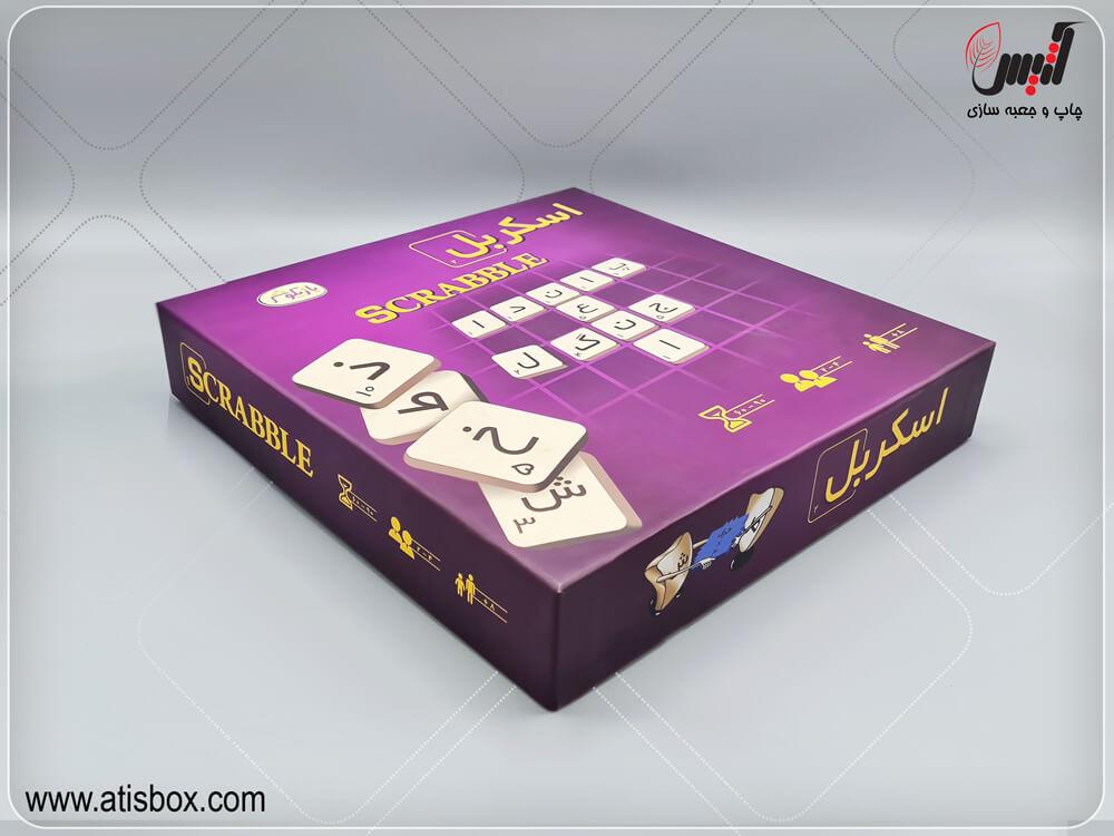 جعبه هارد باکس بازی فکری اسکربل