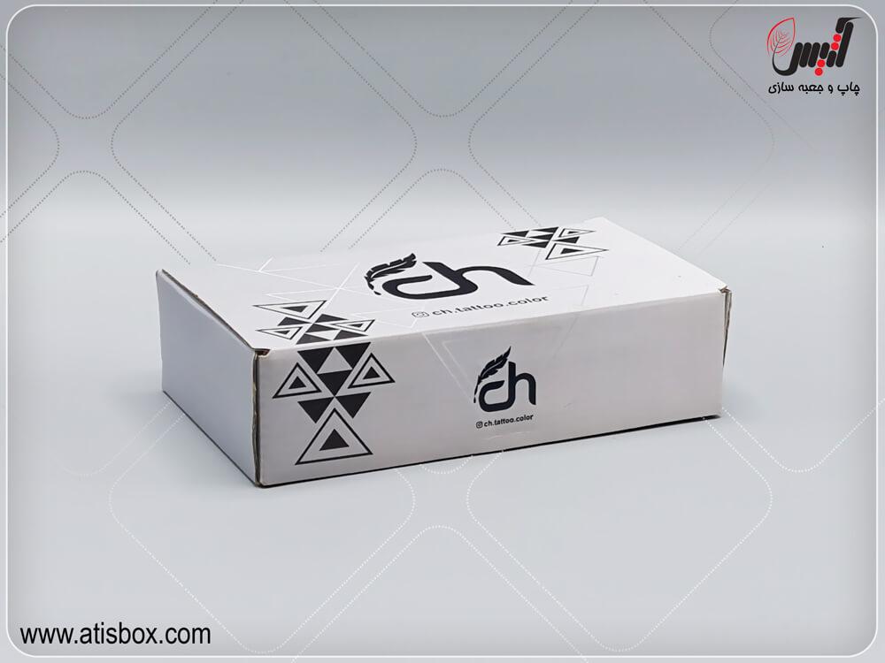 جعبه لمینتی دستگاه تاتو CH